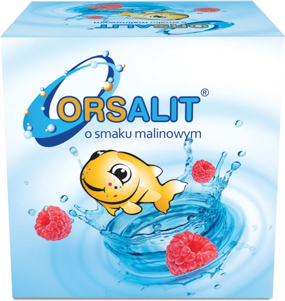 ORSALIT® o smaku malinowym